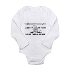 Culpepper Minute Men Long Sleeve Infant Bodysuit