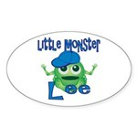 Little Monster Lee Sticker (Oval)