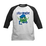 Little Monster Lee Kids Baseball Jersey