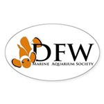 DFWMAS Oval Sticker