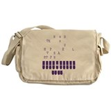 Funny Field report Messenger Bag