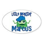 Little Monster Marcus Sticker (Oval)