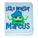 Little Monster Marcus baby blanket