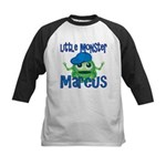Little Monster Marcus Kids Baseball Jersey