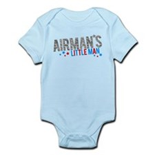 Airman's Little Man Infant Bodysuit