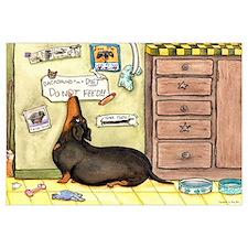 Weighty Weiner Dog