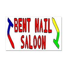 Bent Nail Car Magnet 20 x 12