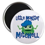 Little Monster Mitchell Magnet