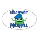 Little Monster Mitchell Sticker (Oval)