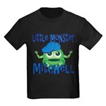 Little Monster Mitchell Kids Dark T-Shirt