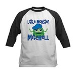 Little Monster Mitchell Kids Baseball Jersey