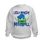 Little Monster Mitchell Kids Sweatshirt
