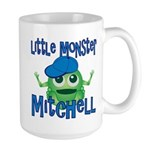 Little Monster Mitchell Large Mug