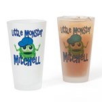 Little Monster Mitchell Drinking Glass