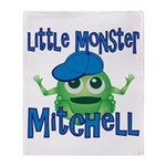 Little Monster Mitchell Throw Blanket