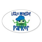 Little Monster Parker Sticker (Oval)