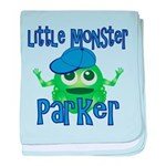 Little Monster Parker baby blanket