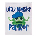 Little Monster Parker Throw Blanket