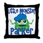 Little Monster Parker Throw Pillow