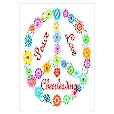 Cheerleading Peace Sign