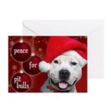 Peace for Pit Bulls Greeting Card