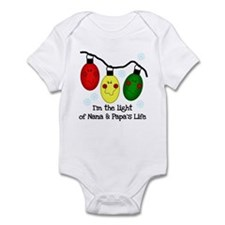 Light of Nana and Papa's Life Onesie