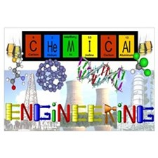 Chemical Engineering Print (16 x 20)