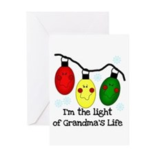 Light of Grandma's Life Greeting Card