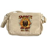Sniper Skull One Shot One Kil Messenger Bag