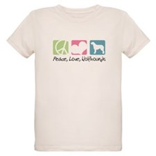 Peace, Love, Wolfhounds T-Shirt