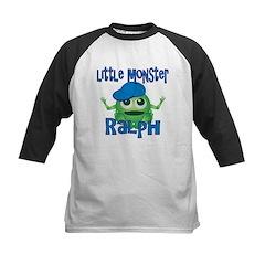 Little Monster Ralph Kids Baseball Jersey