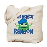 Little Monster Randon Tote Bag