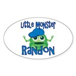 Little Monster Randon Sticker (Oval)