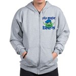 Little Monster Randon Zip Hoodie