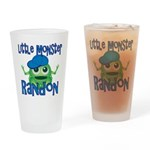 Little Monster Randon Drinking Glass