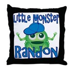 Little Monster Randon Throw Pillow