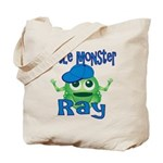 Little Monster Ray Tote Bag