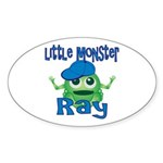 Little Monster Ray Sticker (Oval)