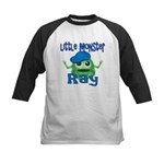 Little Monster Ray Kids Baseball Jersey