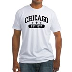 Chicago Est.1837 Fitted T-Shirt