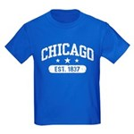 Chicago Est.1837 Kids Dark T-Shirt