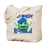 Little Monster Ronald Tote Bag