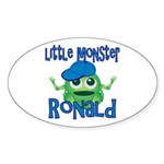 Little Monster Ronald Sticker (Oval)