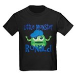Little Monster Ronald Kids Dark T-Shirt