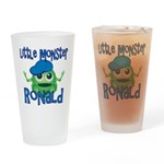 Little Monster Ronald Drinking Glass