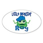 Little Monster Roy Sticker (Oval)