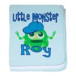 Little Monster Roy baby blanket