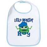 Little Monster Roy Bib