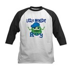 Little Monster Roy Kids Baseball Jersey