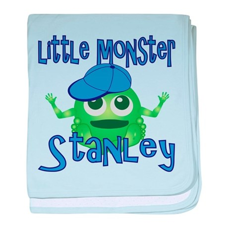 Little Monster Stanley baby blanket